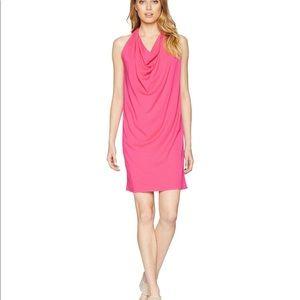 7e96307a502 Michael stars pink drape dress